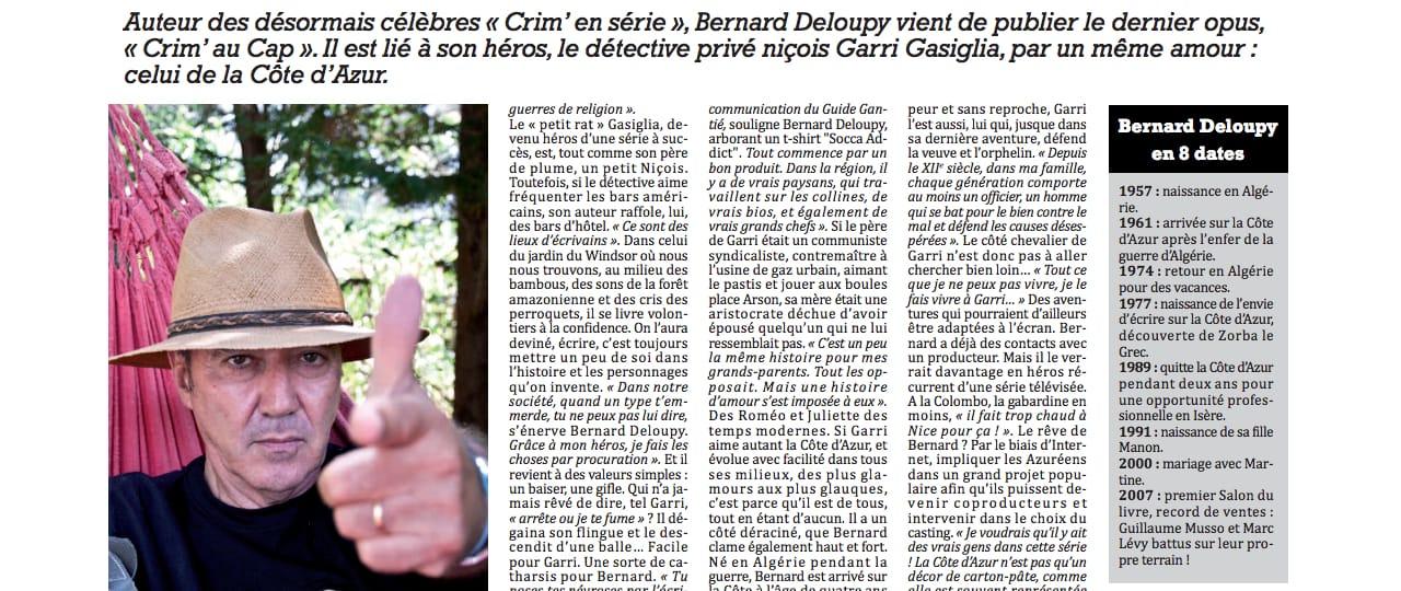 Bernard DELOUPY Côtte d'Azur Addict